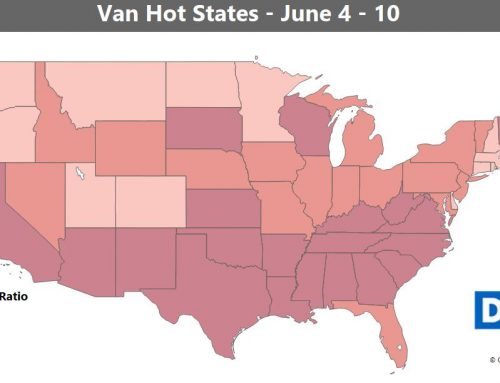 Van Rates Hit Highest Mark in 2 Years